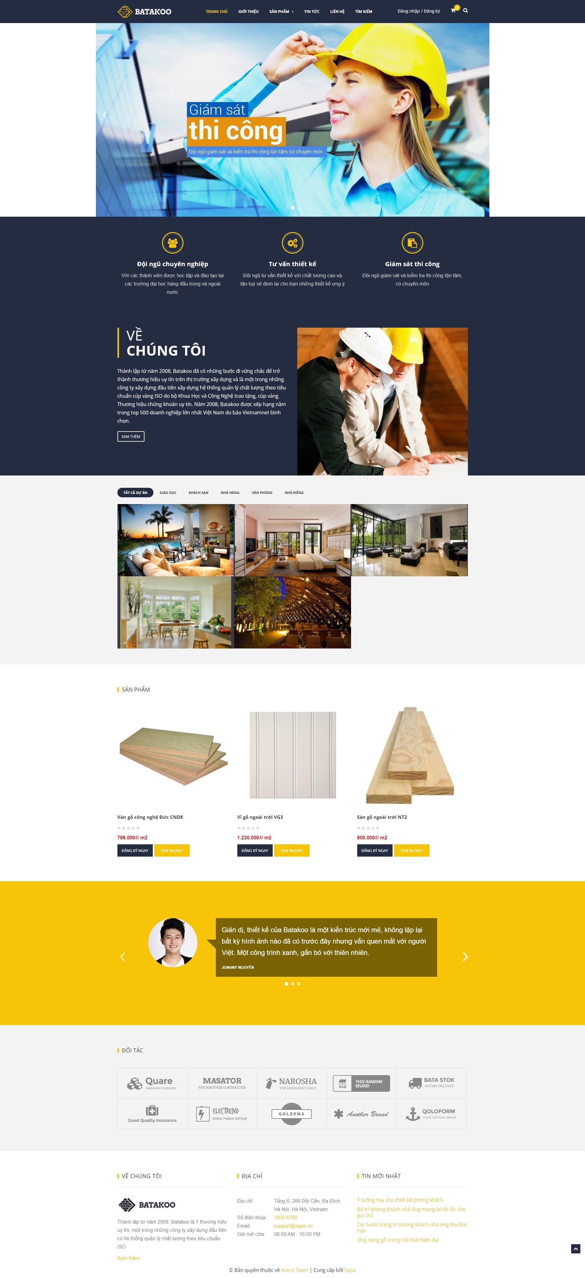 web template batakoo