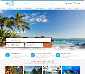 web template travel